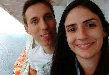 Renan da Cruz Romanini e Camila Machado Araújo - Miami e Cruzeiro no Caribe