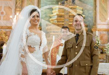Assista ao vídeo do casamento de Deivid Júnior Alves e Mariline Gabriela Mendes da Silva