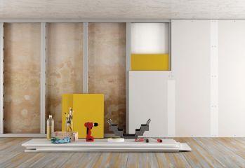 Drywall: qualidade, agilidade e economia.