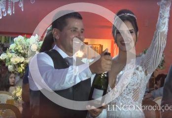 Assista o vídeo do casamento de Davi José Reis Vilela e Izabela Gonçalves Santos