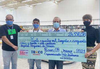 Troco Solidário- Hospital Regional do Câncer de Passos