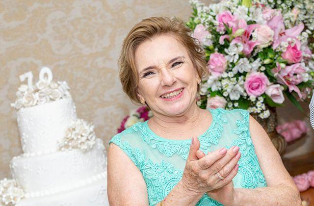 Helena Maria de Carvalho Silva 70 anos