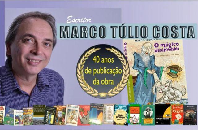 40 anos de publicação da obra  O MÁGICO DESINVENTOR