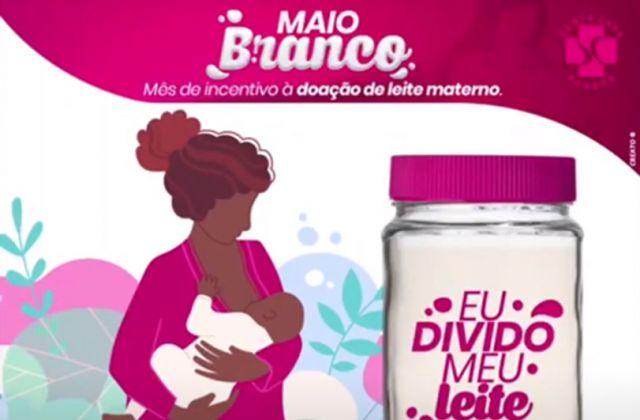 Saiba um pouco mais sobre o maio branco, mês de incentivo a doação de leite materno.
