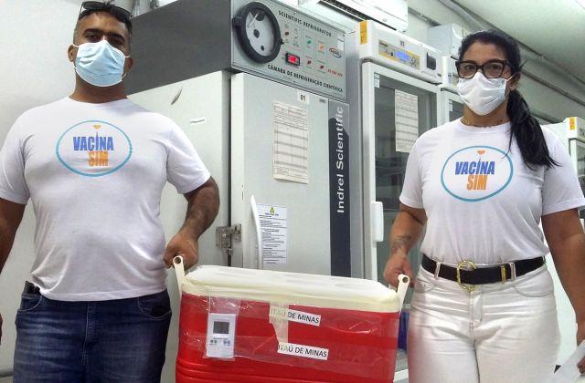 Mais 14.870 doses são entregues aos municípios da SRS Passos