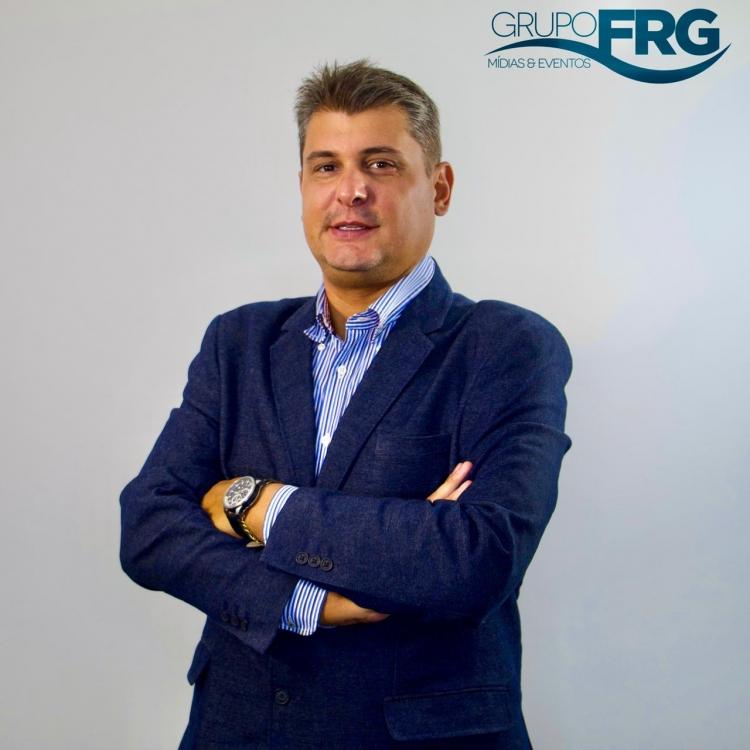 Tiago Fraga, CEO do Grupo FRG Mídias e Eventos