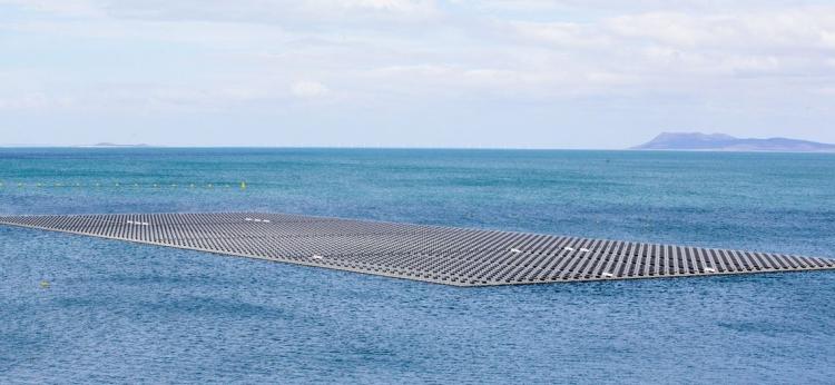 Usina solar Flutuante de Sobradinho/ Créditos: Saulo Cruz MME