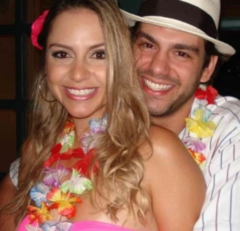 Mauricio Lemos e Joyce Carielo.