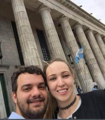 Mateus Dias e Eduarda Cardoso.