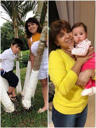 Veja a Eriane Lima, t�o jovem que parece a m�e do netinho.