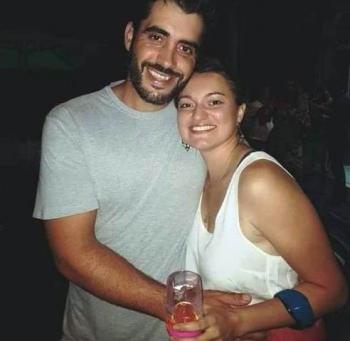 Diogo Lemos e Fernanda Viera.