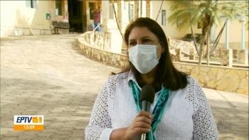 Erenita tamb�m diz para o rep�rter da EPTV que sua grande preocupa��o � com as aglomera��es nos ranchos.