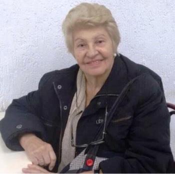 Ana Maria Soares Vilela uma das homenageadas do encontro.
