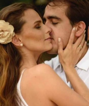 Thadeu Rangel e Paola Passos.
