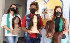 Associação Luz do Servir realiza segunda entrega anual de perucas ao HRC