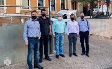 Sociedade Brasileira de Cirurgia Plástica visita Hospital e confirma convite para grande evento do segmento