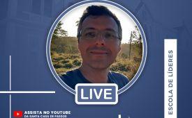 """""""Espiritualidade, desenvolvimento humano e transformação social"""" - Live com dr. Leonardo Consolim"""