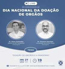 """LIVE: """"Dia Nacional da Doação de Órgãos"""""""